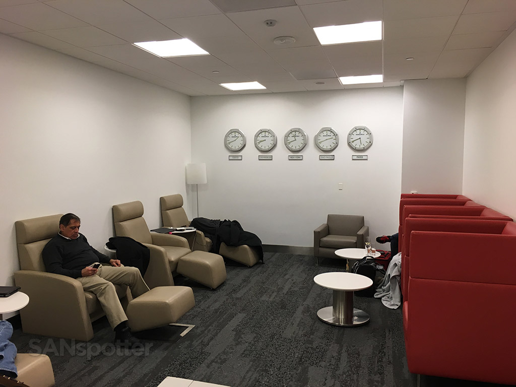 delta sky club lax quiet room