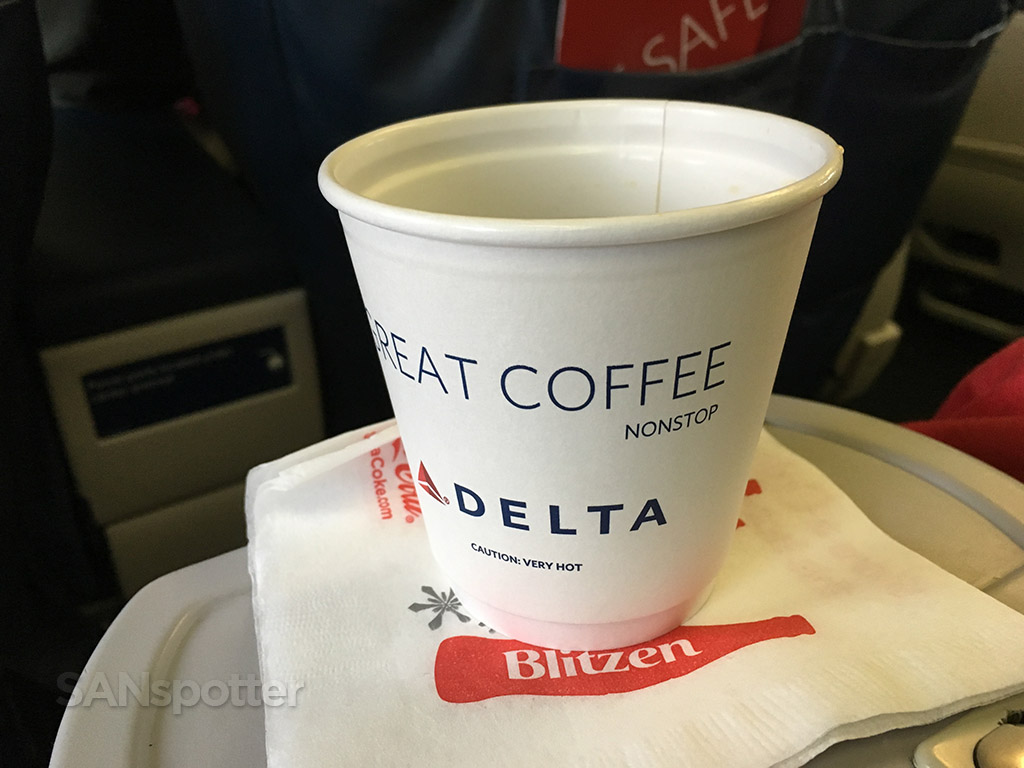 delta airlines coffee