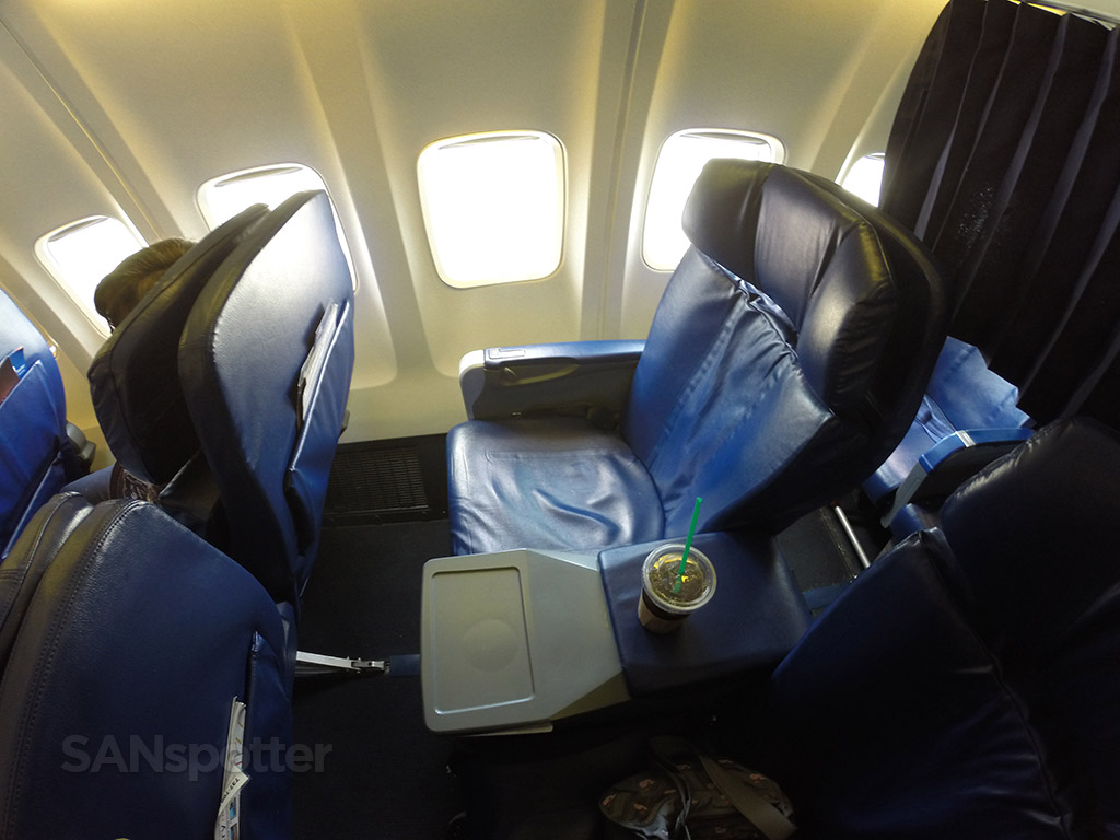 sun country airlines first class seat