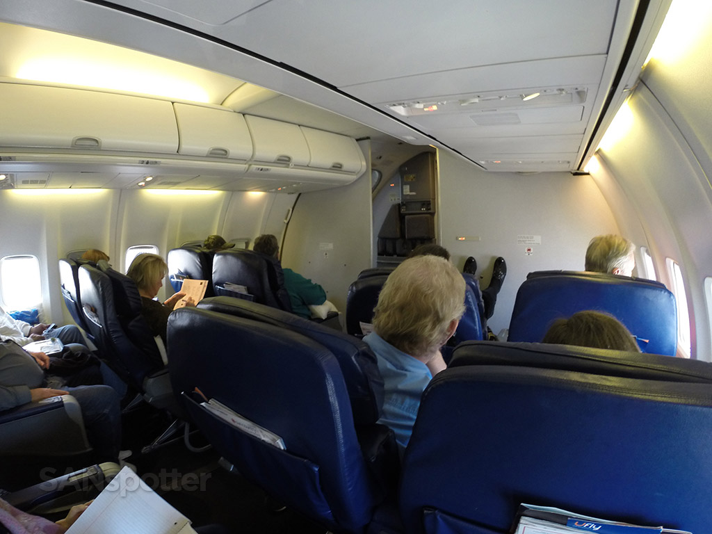 sun country airlines first class cabin