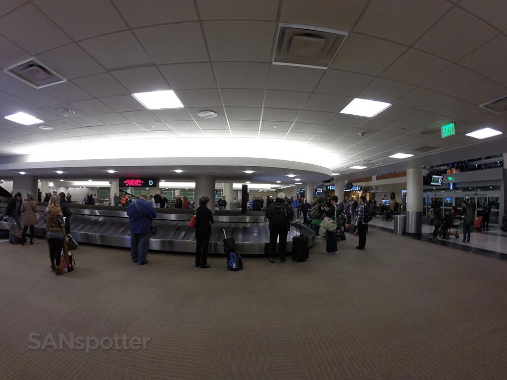 Humphrey terminal baggage claim