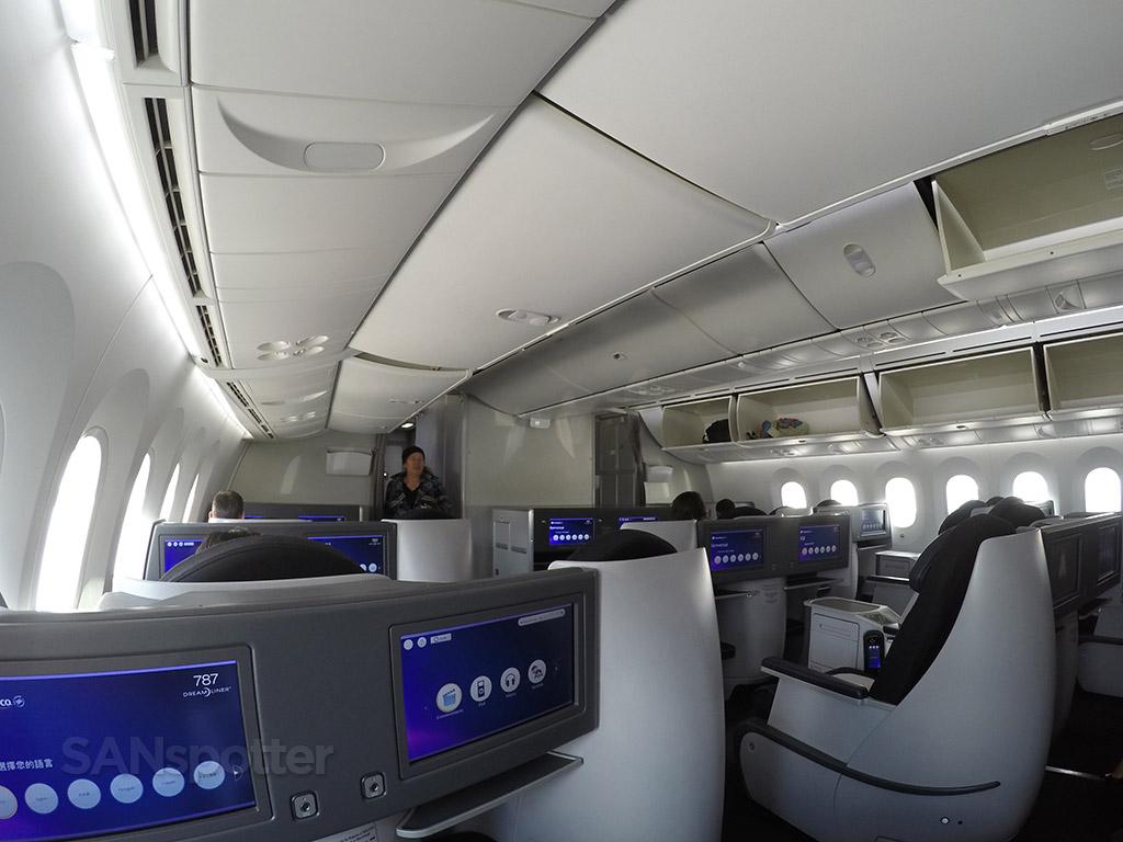 premier class cabin layout