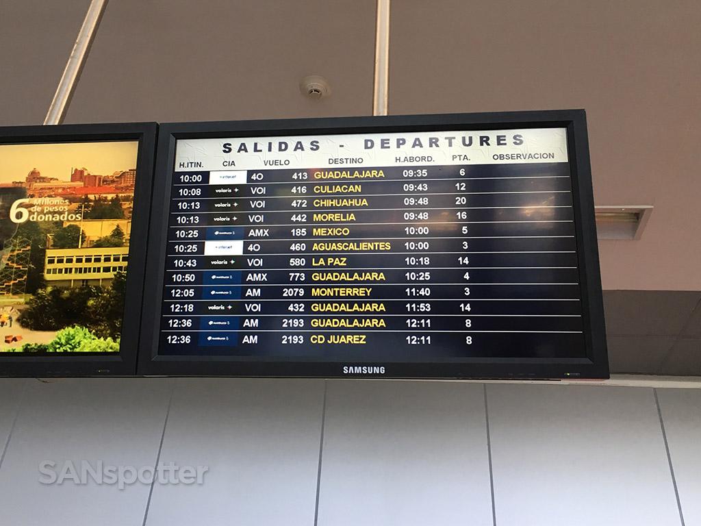 tijuana airport departures