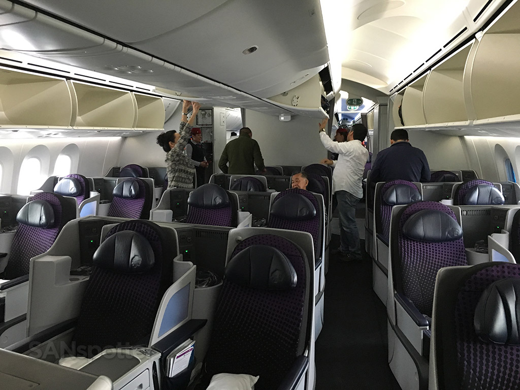 aeromexico 787 business class seats
