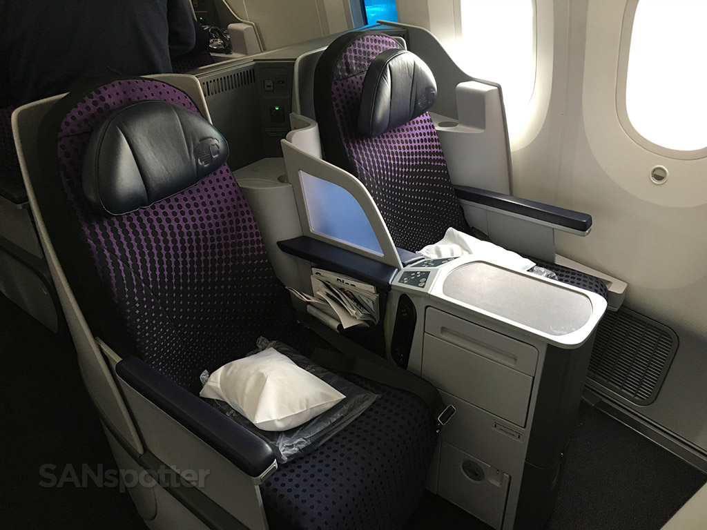 aeromexico 787 business class seat