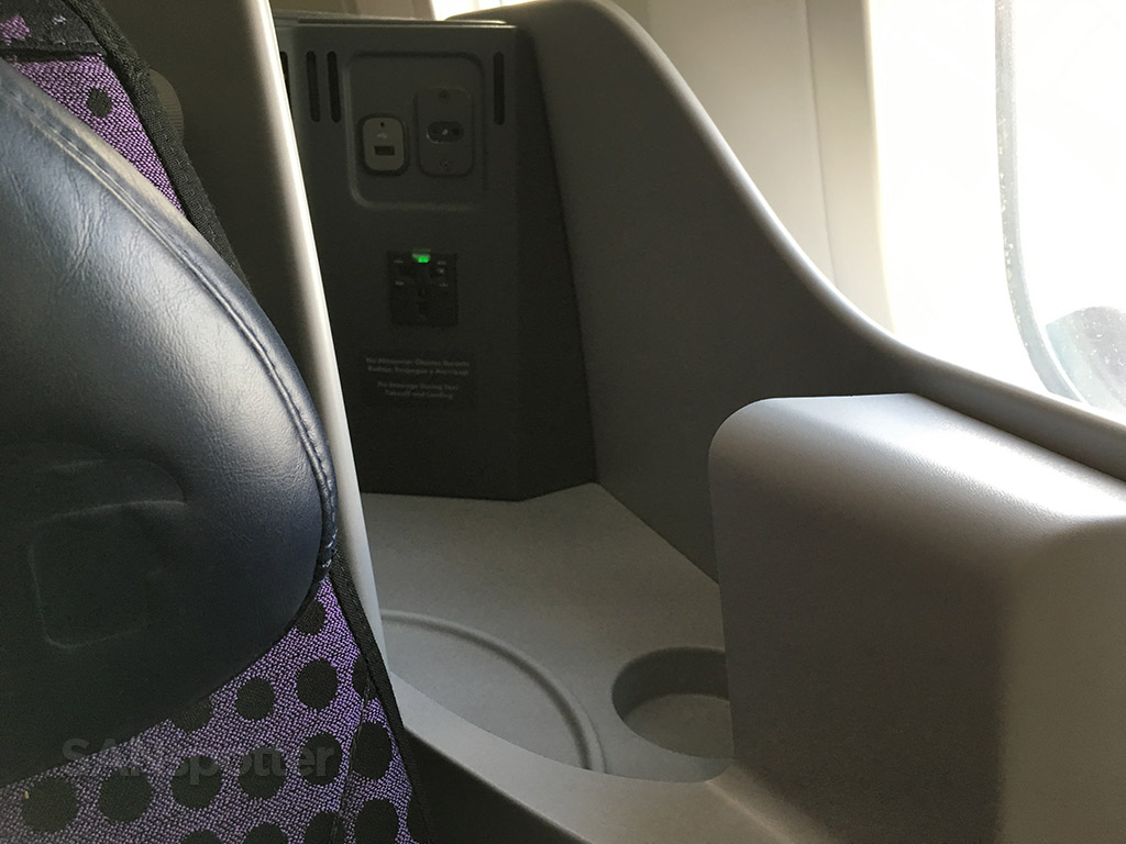 usb power ports in seat
