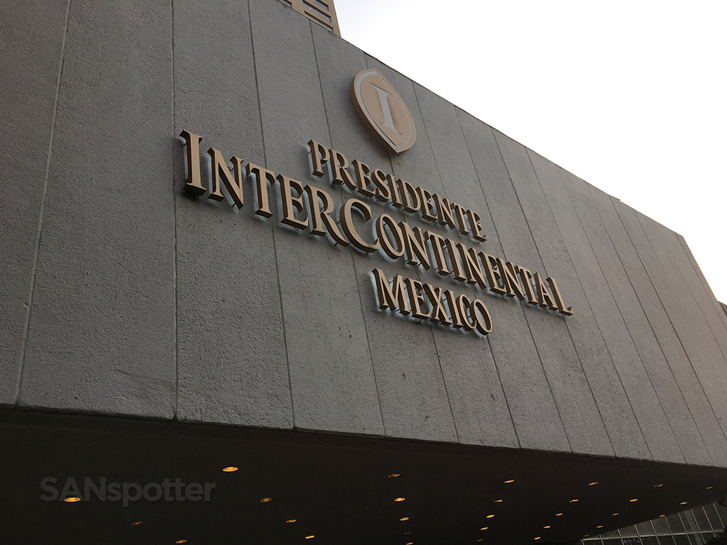 Presidente InterContinental sign