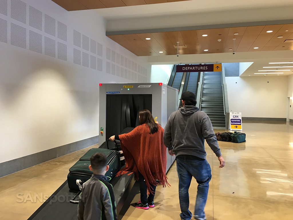 tijuana airport bridge customs