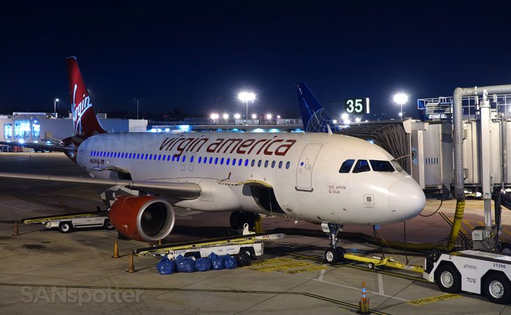 Virgin America A320-214 N624VA