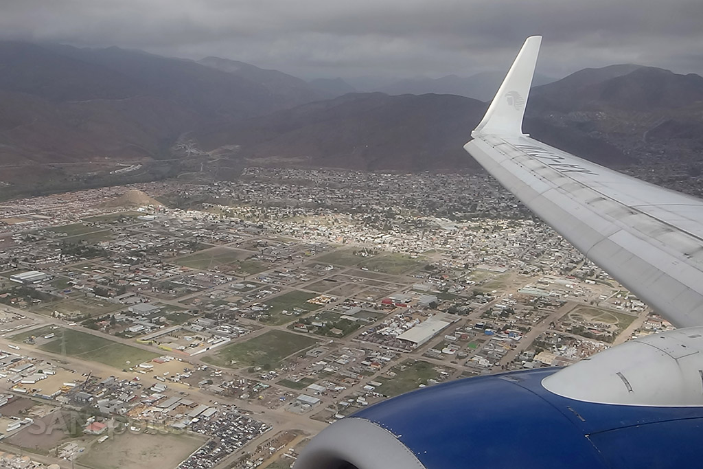 Short final for TIJ / Tijuana