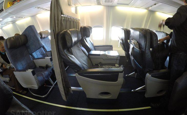aeromexico 737-700 premier class cabin