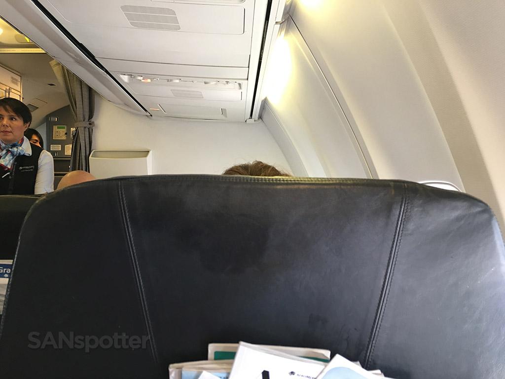 aeromexico 737-700 premier class seat backs
