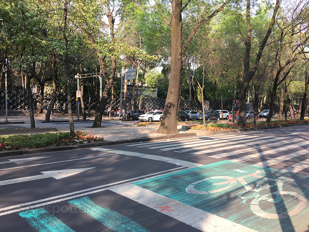 mexico city bike lanes