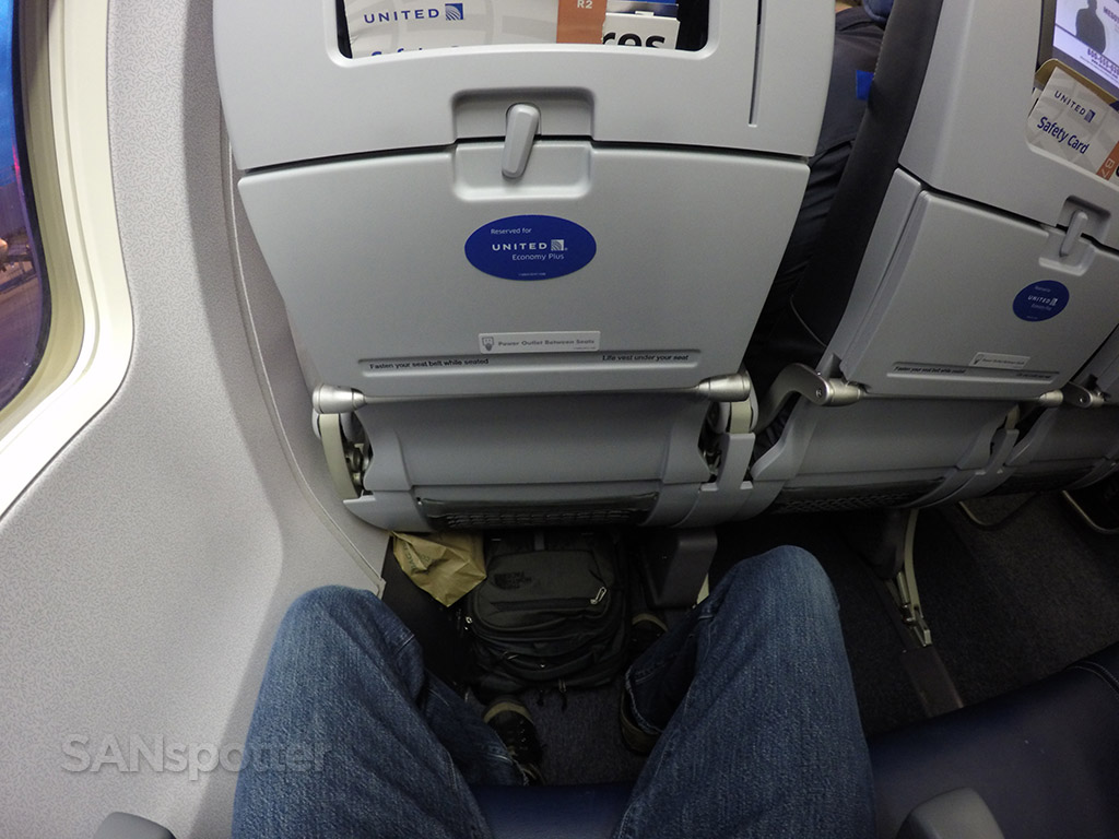 united economy plus leg room