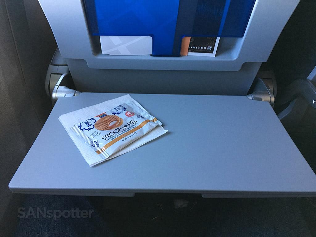 United Airlines Stroopwafel