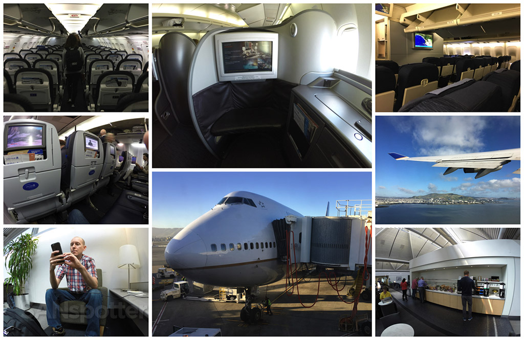 united airlines 747 trip report