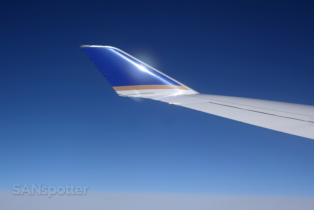 united airlines 747-400 winglet