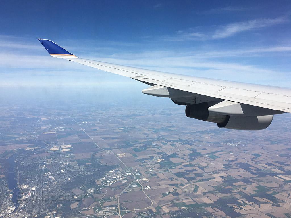 747-400 descent