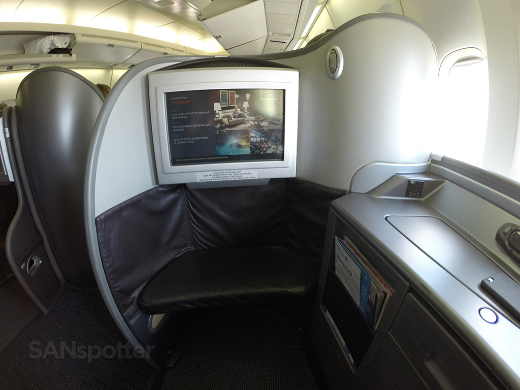 united airlines 747-400 first class suite