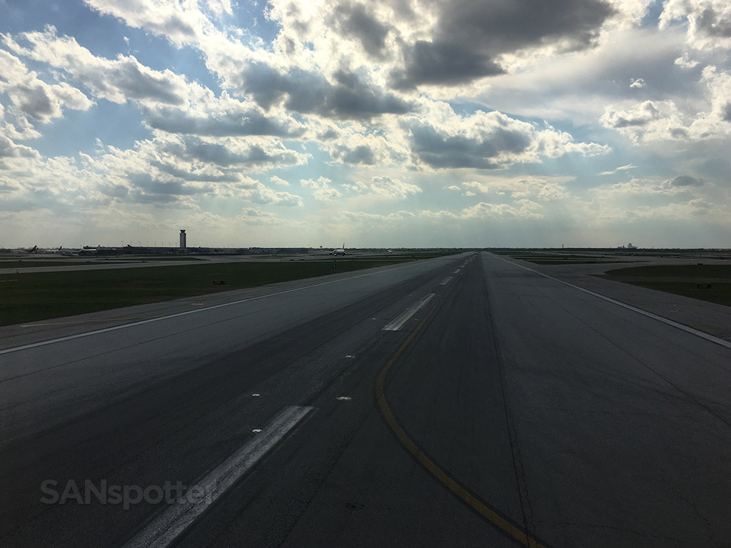 chicago o'hare runway
