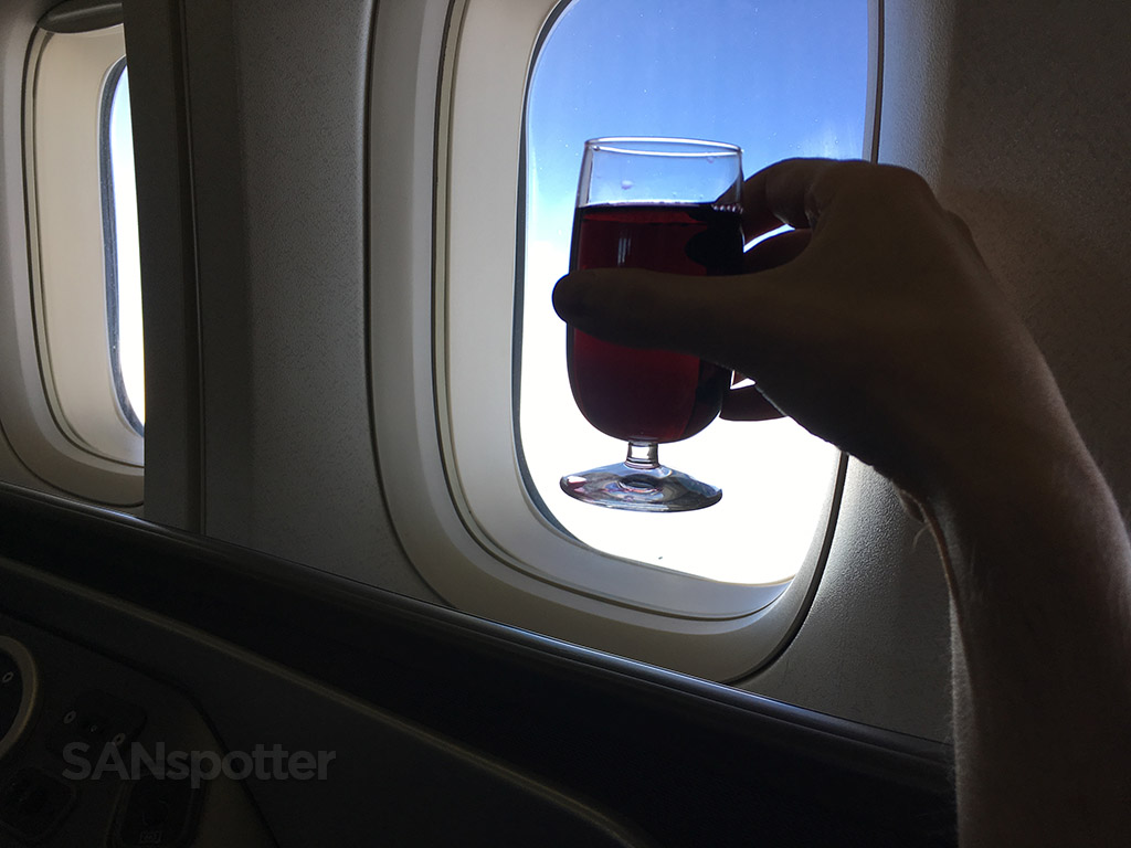 united airlines global first wine