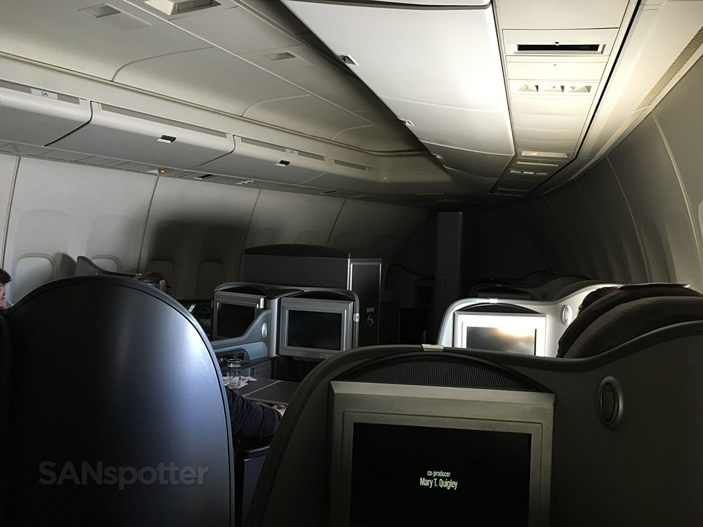 united airlines global first cabin