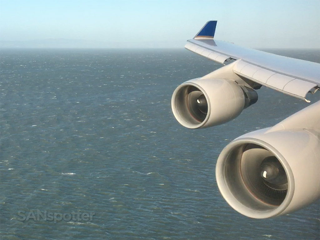747-400 arrival san francisco airport