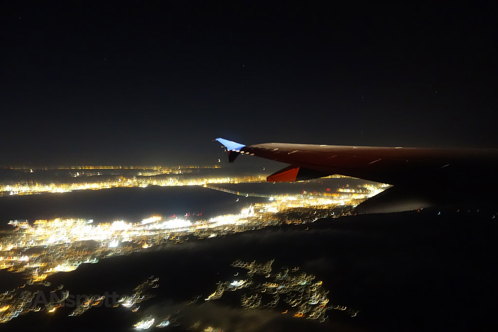 departing san francisco airport