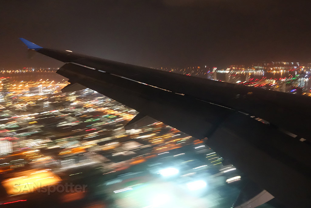 san diego airport night approach