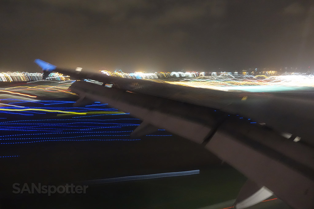night arrival into san diego airport