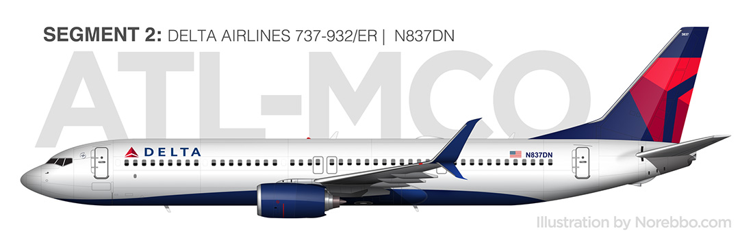 delta 737-900 side view