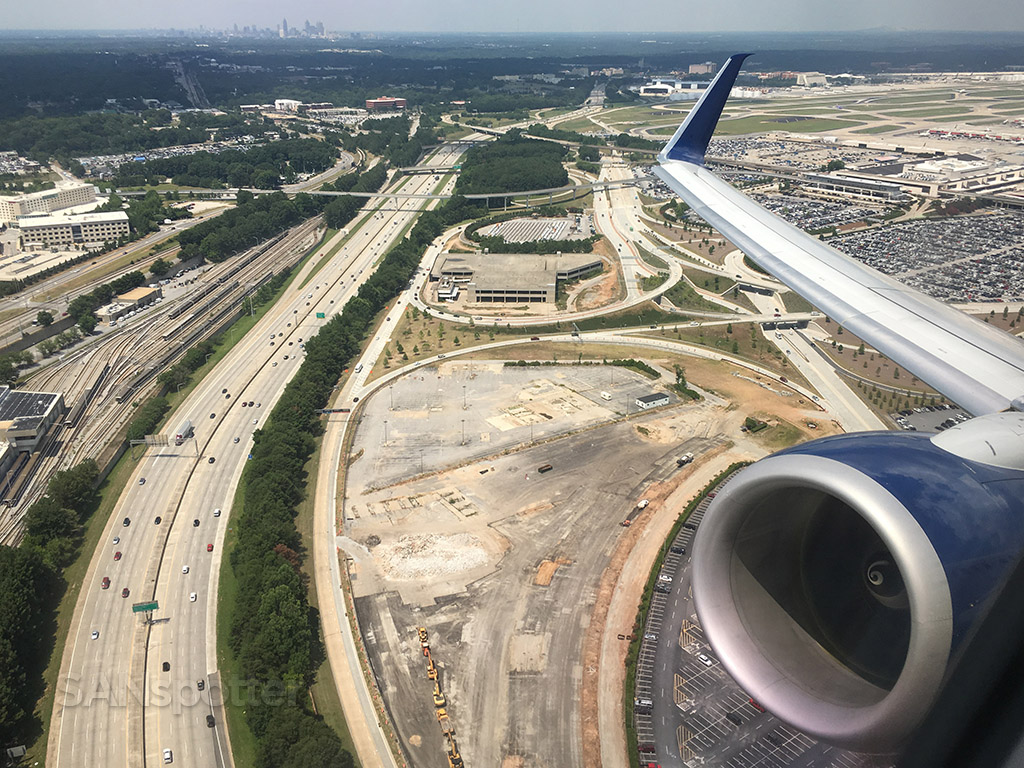 atlanta airport construction