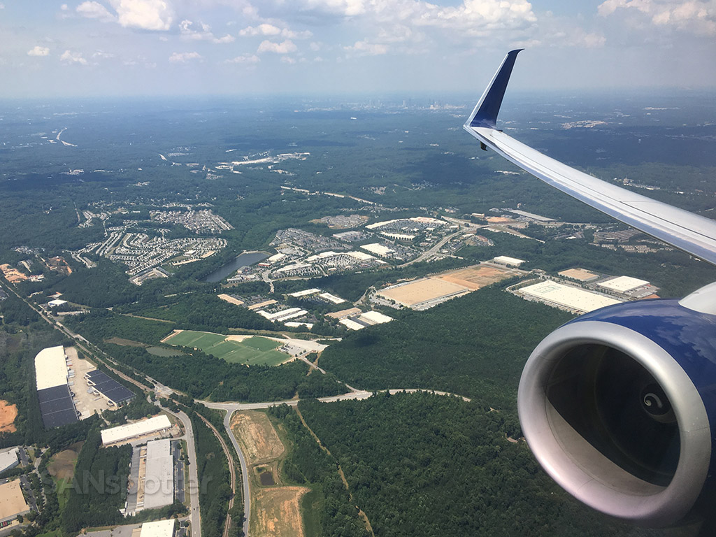 departing out of atlanta airport