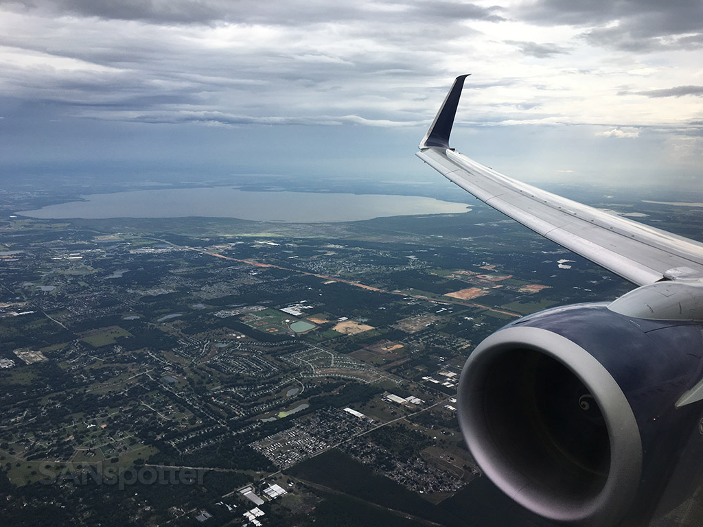 flying into storm orlando airport