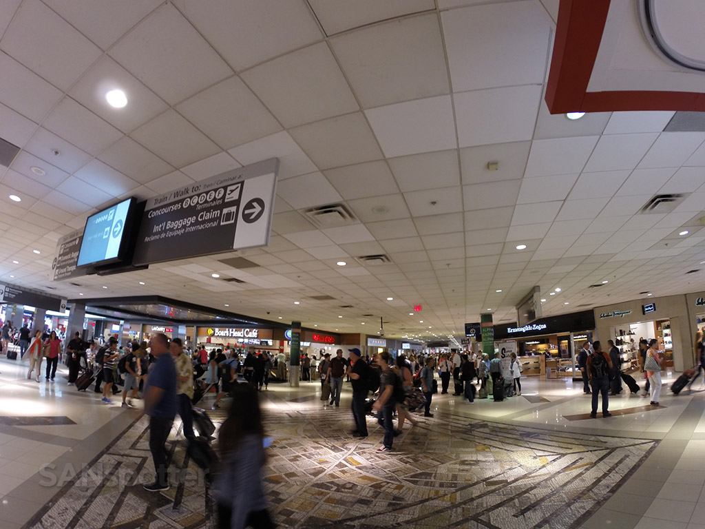 atlanta airport ATL interior terminal A