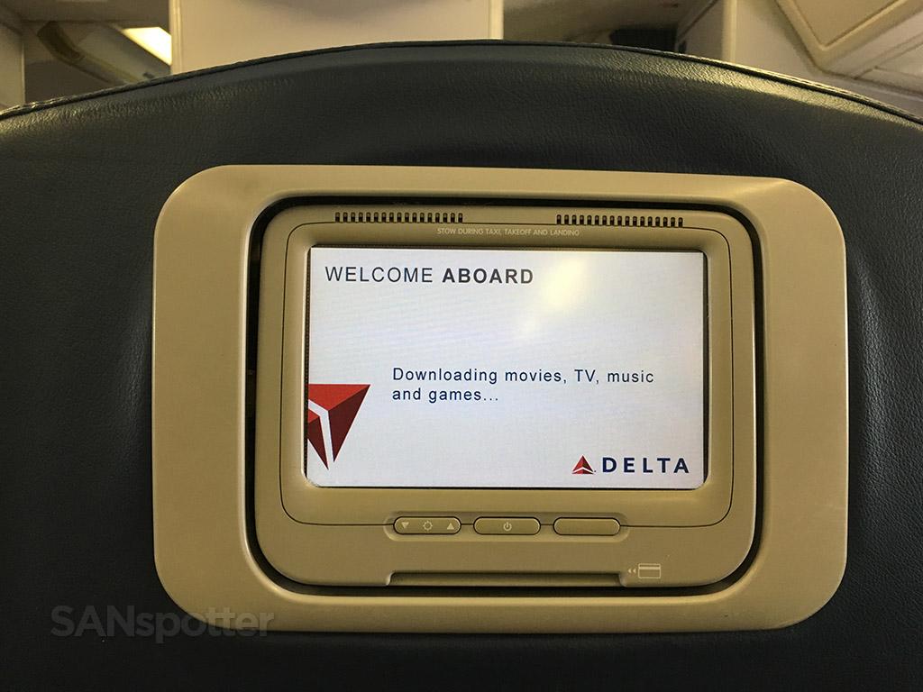 delta 767-300 first class PTV