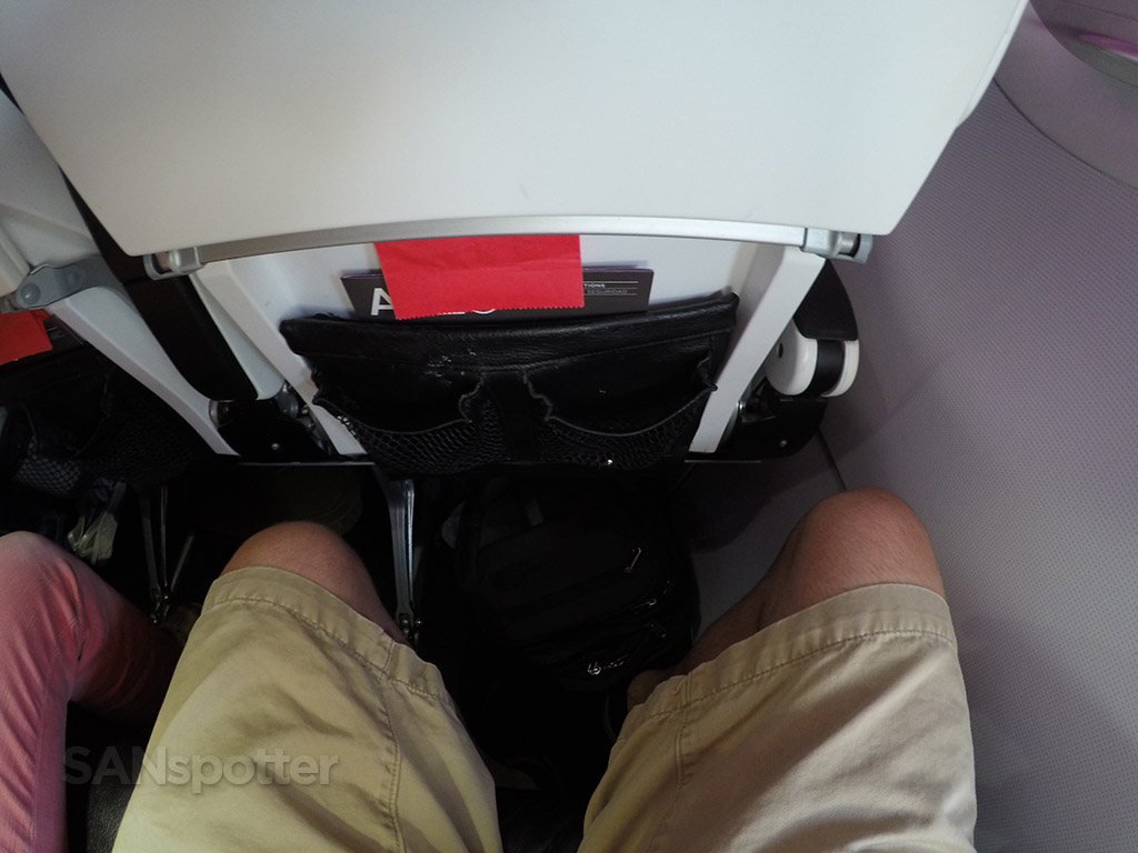 virgin america a320 seat pitch