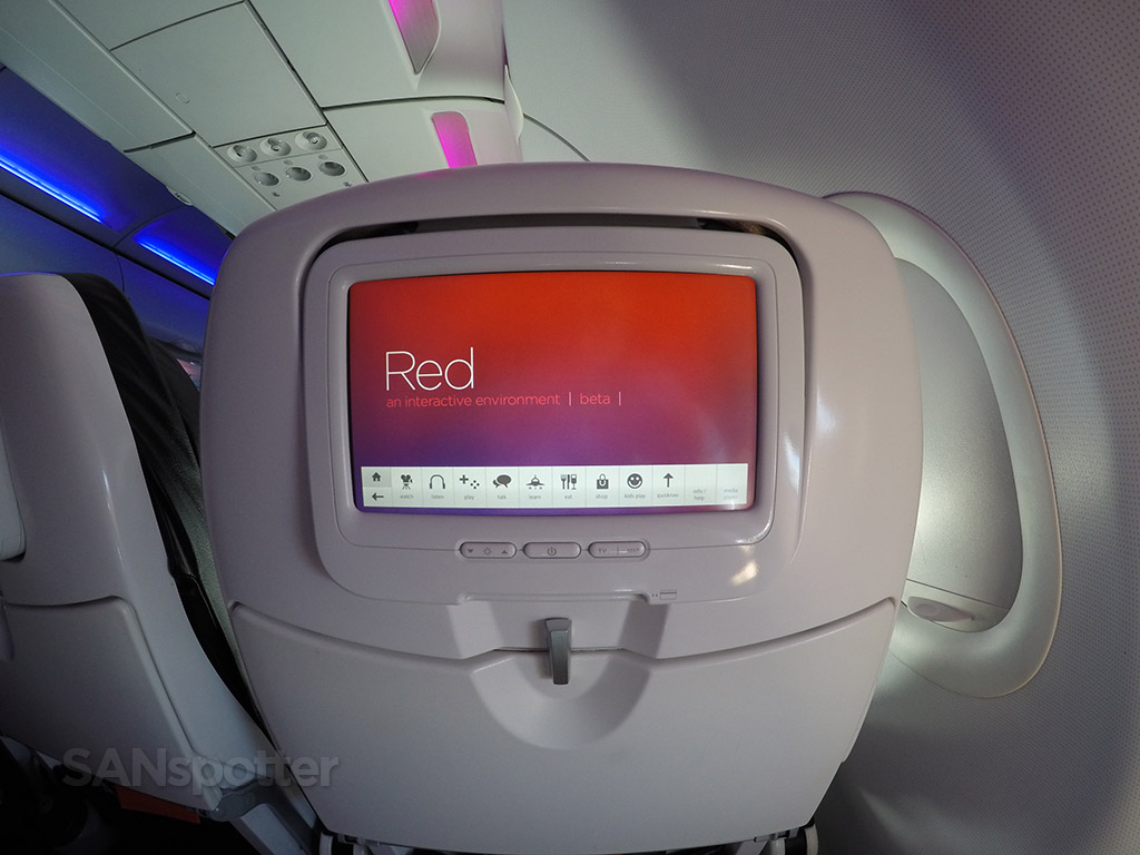 virgin america Red