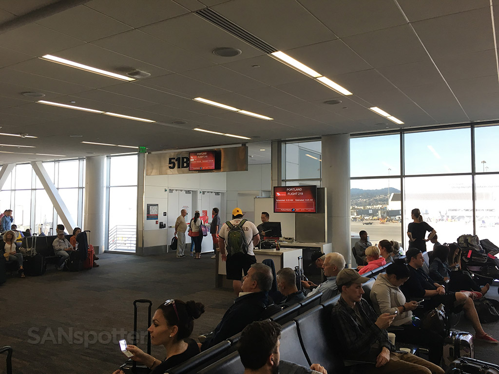 gate 51B terminal 2 SFO
