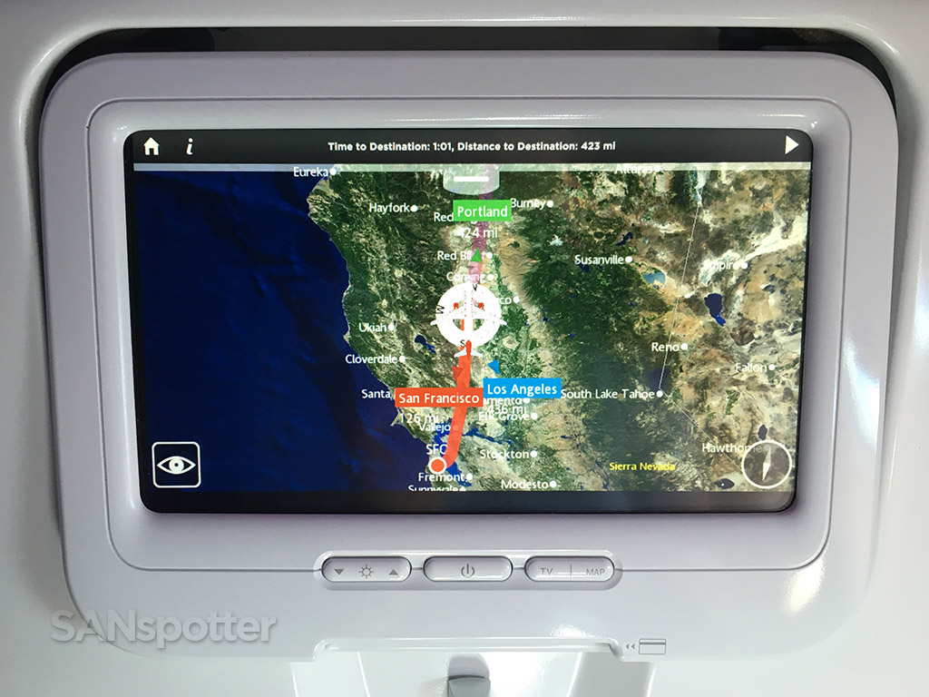 virgin america moving map