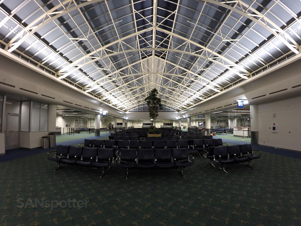 empty airport PDX