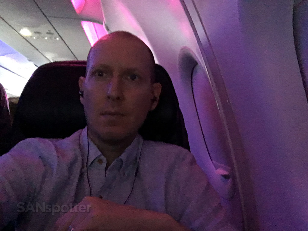 dark virgin america cabin