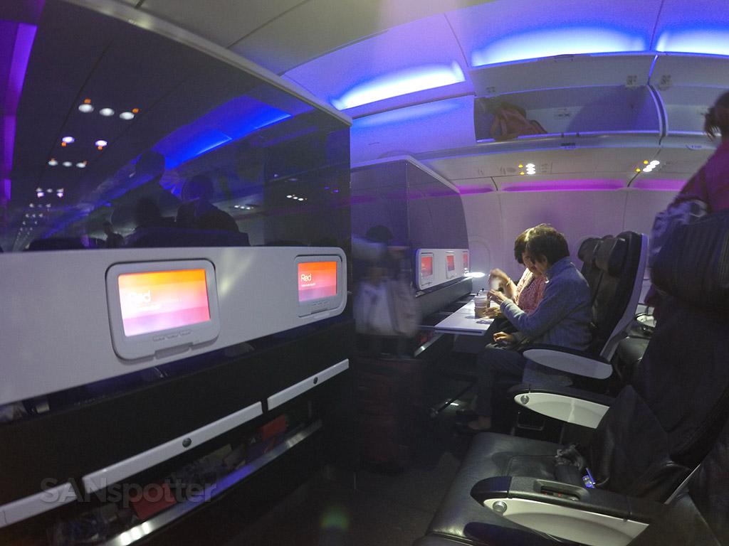 virgin america main cabin select