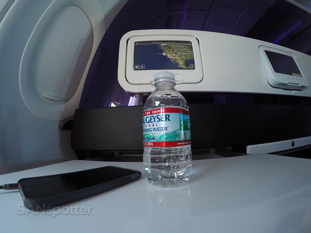 virgin america in flight snack