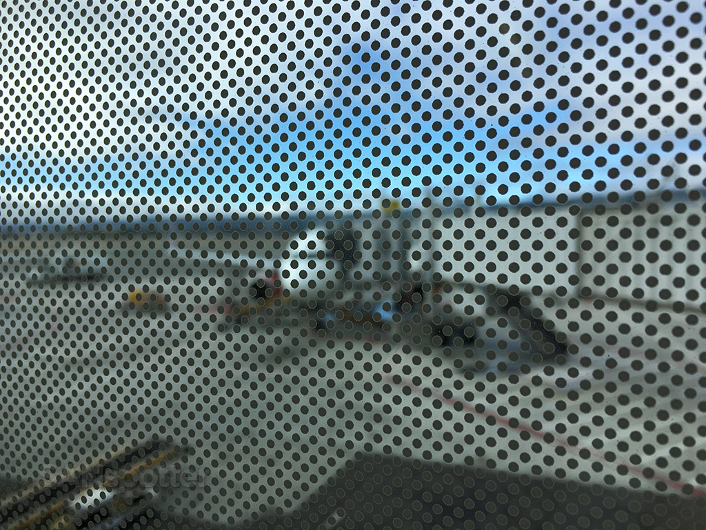 sfo dot pattern window tint