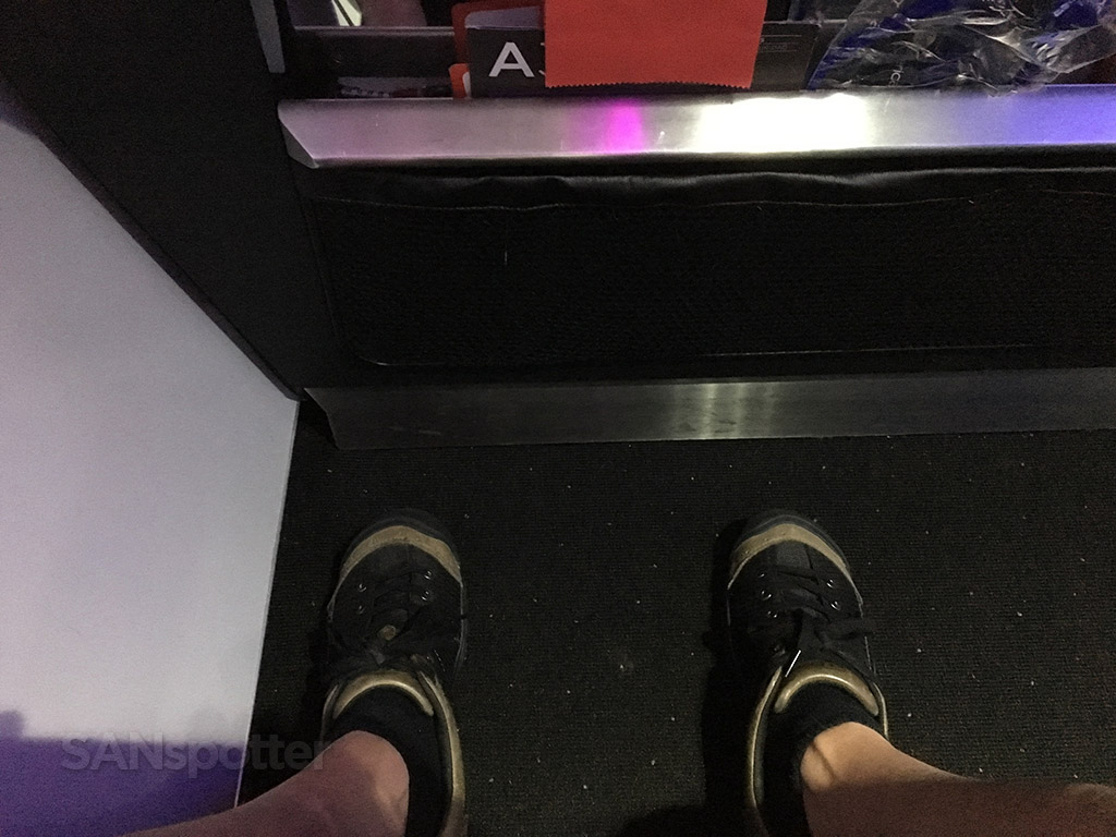 virgin america main cabin select leg room