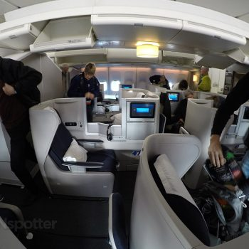 british airways club world cabin
