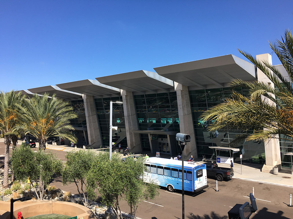 san diego airport terminal building