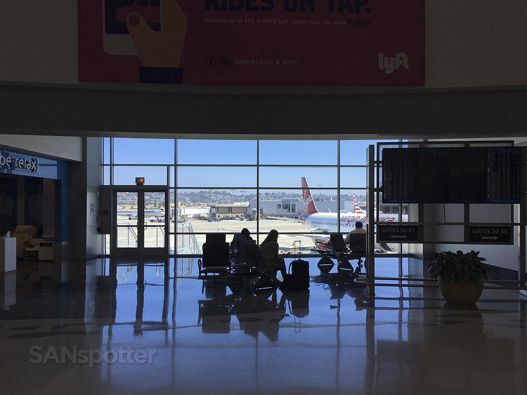 san diego airport terminal windows