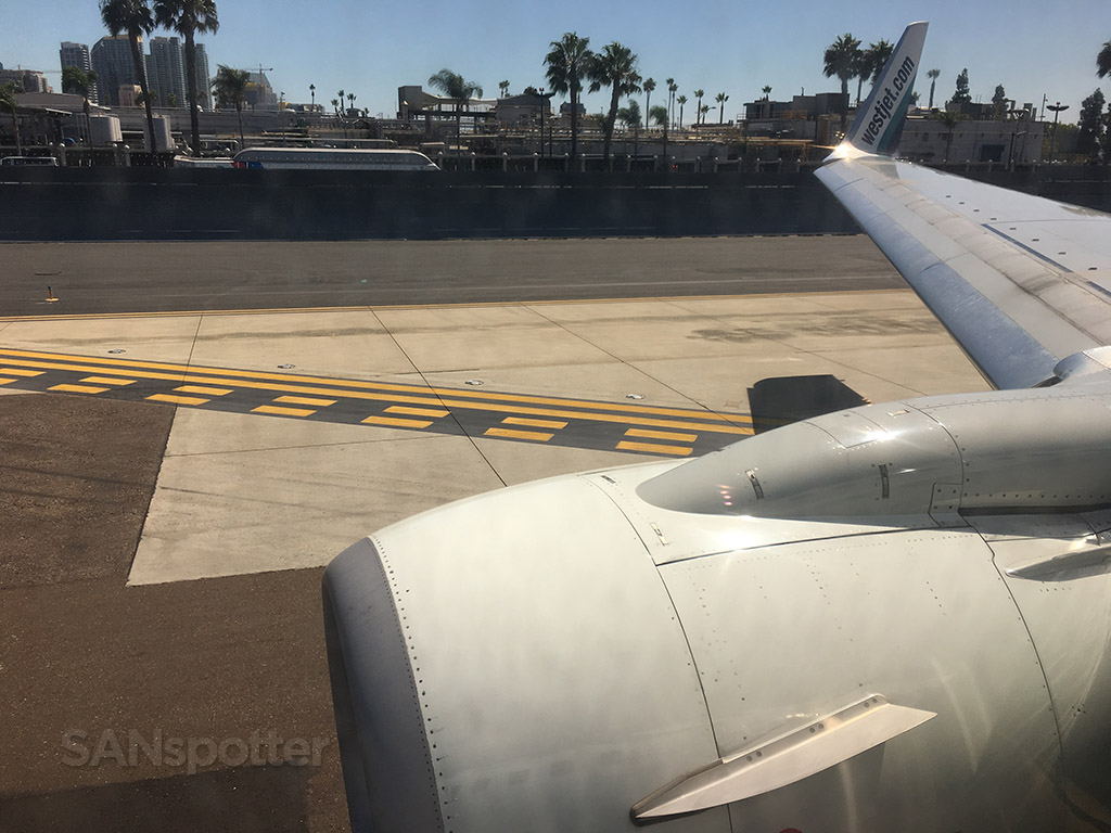 runway threshold san Diego airport